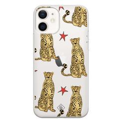 Casimoda iPhone 12 transparant hoesje - Stay wild