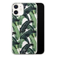 Casimoda iPhone 12 transparant hoesje - Jungle