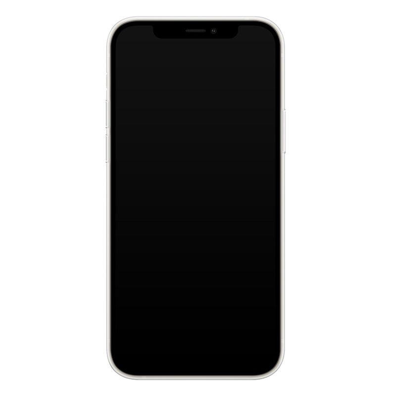 Casimoda iPhone 12 transparant hoesje - Leo kisses