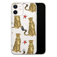 Casimoda iPhone 12 mini transparant hoesje - Stay wild