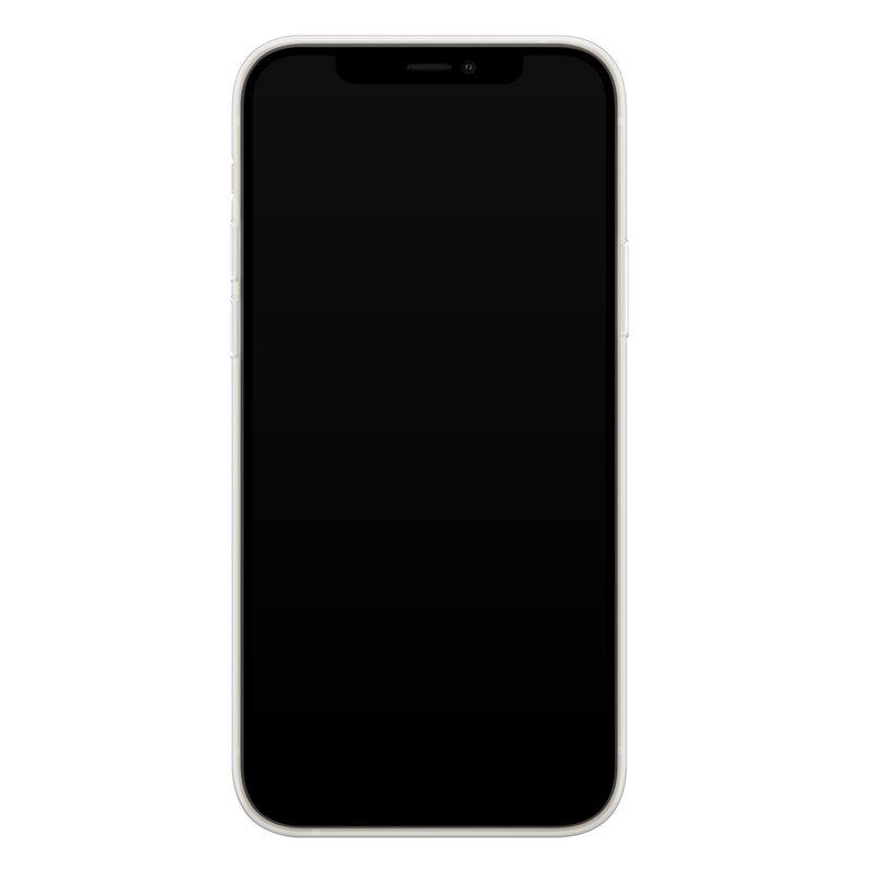 Casimoda iPhone 12 mini transparant hoesje - Leo kisses