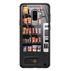 Casimoda Samsung Galaxy S9 Plus glazen hardcase - Snoepautomaat