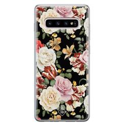 Casimoda Samsung Galaxy S10 Plus siliconen hoesje - Flowerpower