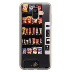 Casimoda Samsung Galaxy A6 2018 siliconen hoesje - Snoepautomaat