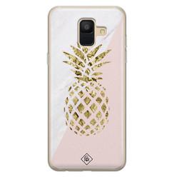 Casimoda Samsung Galaxy A6 2018 siliconen hoesje - Ananas