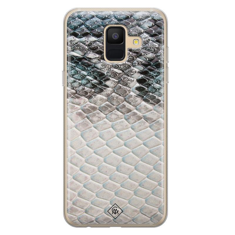 Casimoda Samsung Galaxy A6 2018 siliconen hoesje - Oh my snake