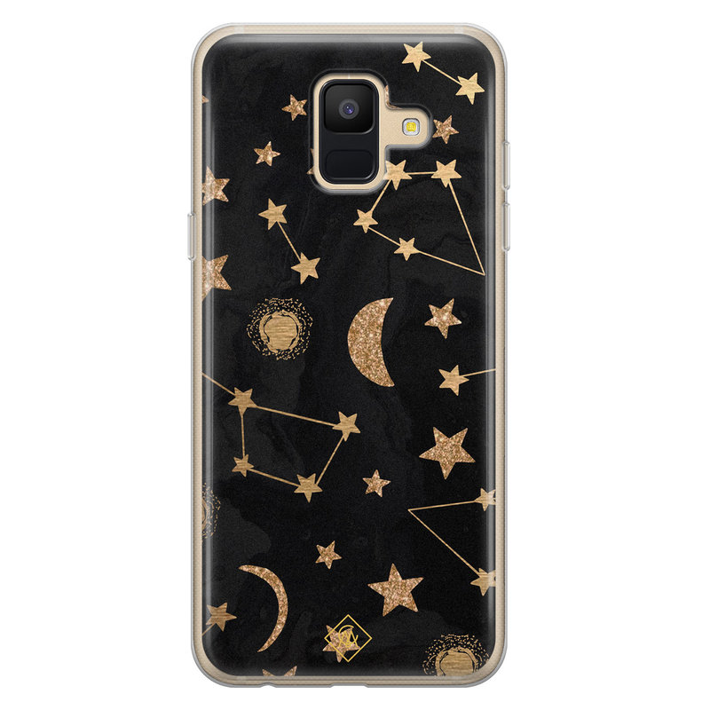 Casimoda Samsung Galaxy A6 2018 siliconen hoesje - Counting the stars