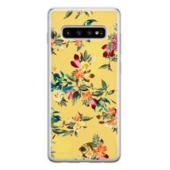 Casimoda Samsung Galaxy S10 siliconen hoesje - Floral days