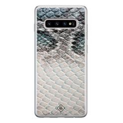 Casimoda Samsung Galaxy S10 siliconen hoesje - Oh my snake