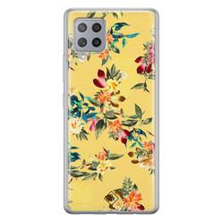 Casimoda Samsung Galaxy A42 siliconen hoesje - Floral days