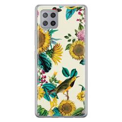 Casimoda Samsung Galaxy A42 siliconen hoesje - Sunflowers