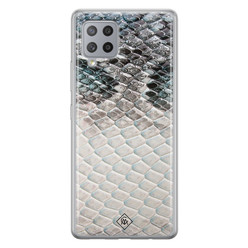 Casimoda Samsung Galaxy A42 siliconen hoesje - Oh my snake