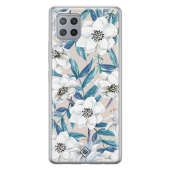 Casimoda Samsung Galaxy A42 siliconen hoesje - Touch of flowers