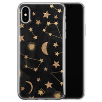 Casimoda iPhone XS Max siliconen hoesje - Counting the stars