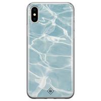 Casimoda iPhone XS Max siliconen hoesje - Oceaan