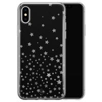 Casimoda iPhone XS Max siliconen hoesje - Falling stars
