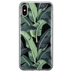 Casimoda iPhone XS Max siliconen hoesje - Bali vibe