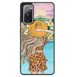 Casimoda Samsung Galaxy S20 FE hoesje - Sunset girl