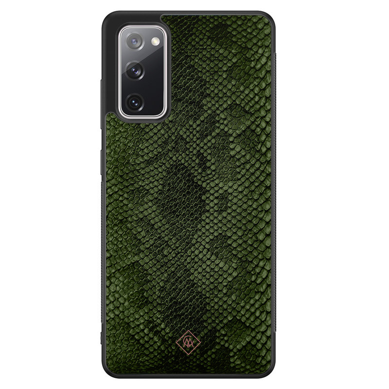Casimoda Samsung Galaxy S20 FE hoesje - Snake mix