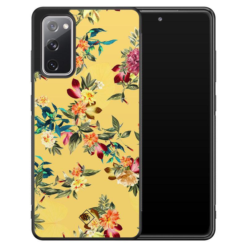 Casimoda Samsung Galaxy S20 FE hoesje - Florals for days