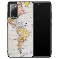 Casimoda Samsung Galaxy S20 FE hoesje - Wereldkaart