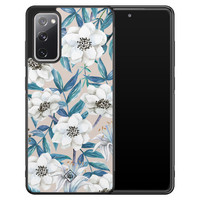 Casimoda Samsung Galaxy S20 FE hoesje - Touch of flowers