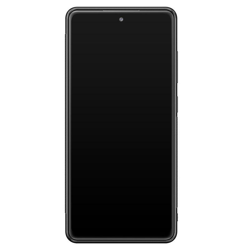 Casimoda Samsung Galaxy S20 FE hoesje - Parelmoer marmer