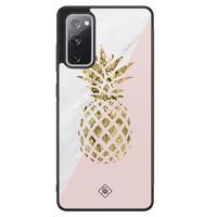 Casimoda Samsung Galaxy S20 FE hoesje - Ananas