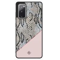 Casimoda Samsung Galaxy S20 FE hoesje - Snake print