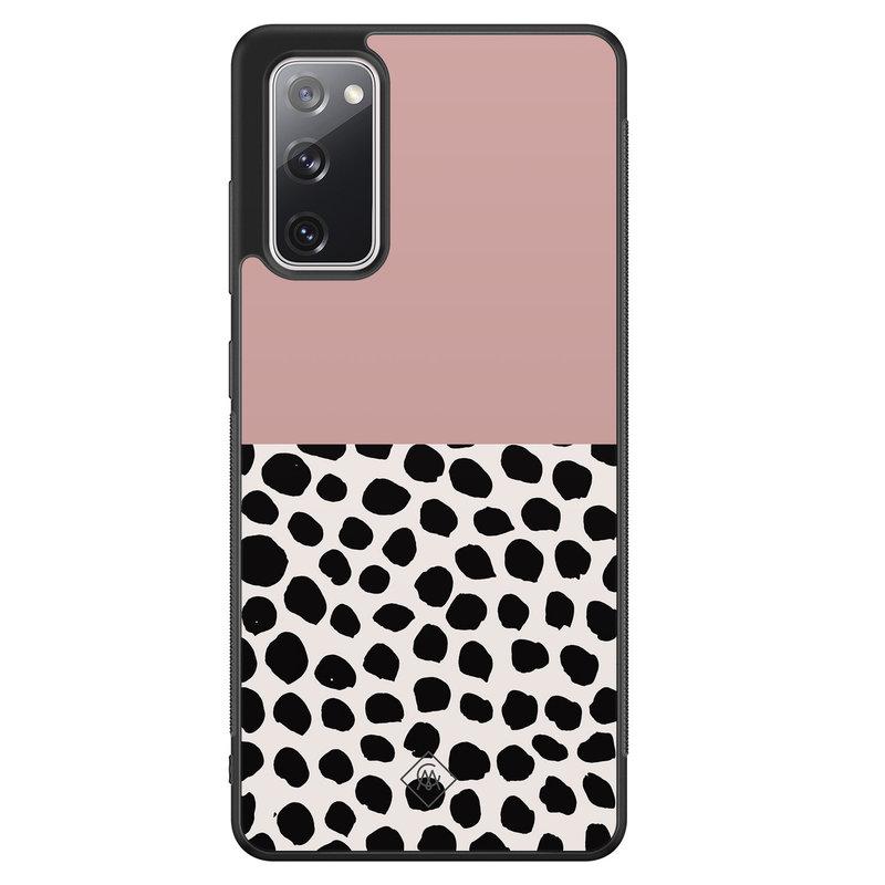 Casimoda Samsung Galaxy S20 FE hoesje - Pink dots