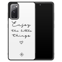 Casimoda Samsung Galaxy S20 FE hoesje - Enjoy life