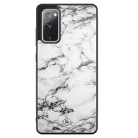 Casimoda Samsung Galaxy S20 FE hoesje - Marmer grijs