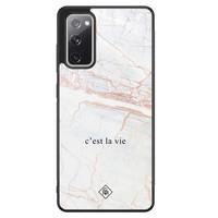 Casimoda Samsung Galaxy S20 FE hoesje - C'est la vie