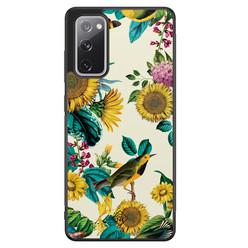 Casimoda Samsung Galaxy S20 FE hoesje - Sunflowers