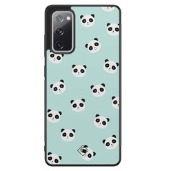 Casimoda Samsung Galaxy S20 FE hoesje - Panda print