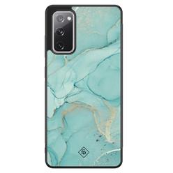 Casimoda Samsung Galaxy S20 FE hoesje - Touch of mint