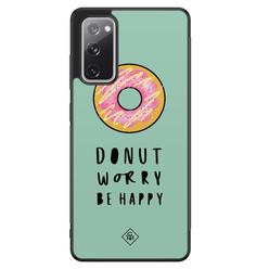 Casimoda Samsung Galaxy S20 FE hoesje - Donut worry