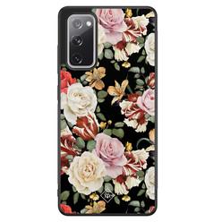 Casimoda Samsung Galaxy S20 FE hoesje - Flowerpower