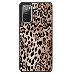 Casimoda Samsung Galaxy S20 FE hoesje - Golden wildcat