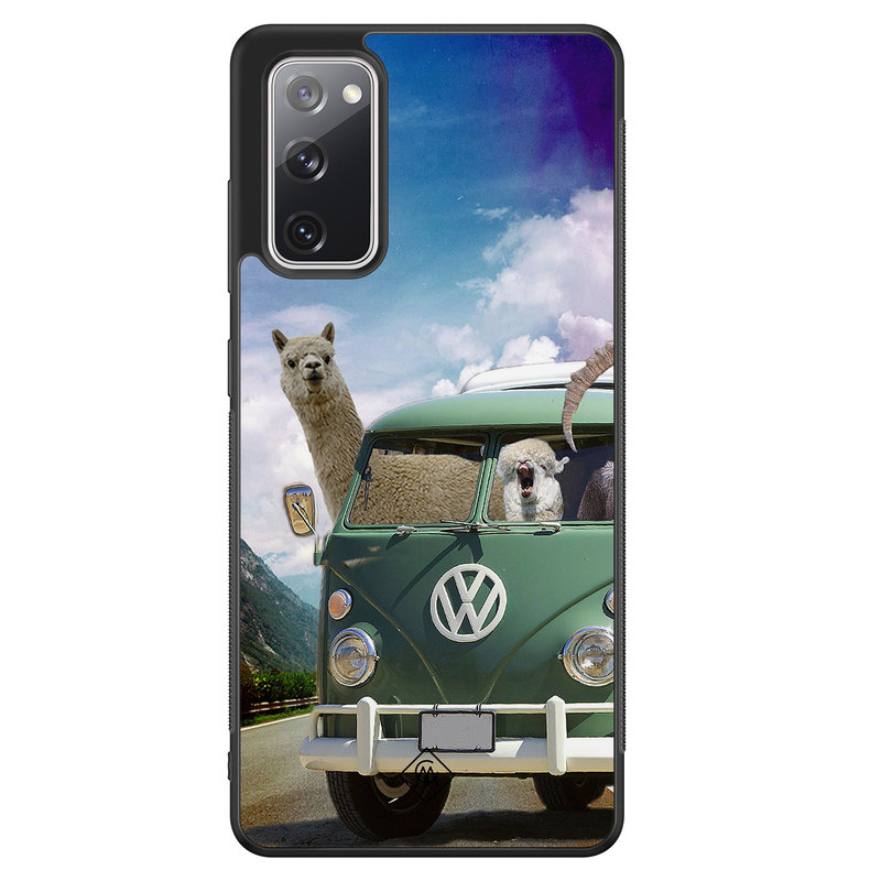 Casimoda Samsung Galaxy S20 FE hoesje - Lama adventure
