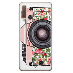 Casimoda Samsung Galaxy A7 2018 siliconen hoesje - Hippie camera