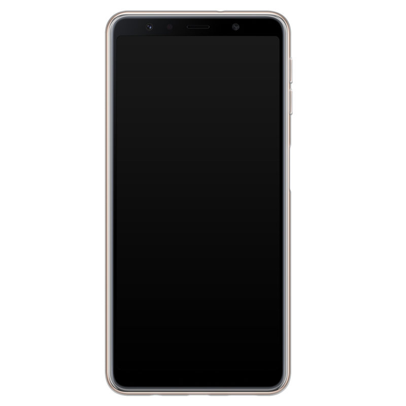 Casimoda Samsung Galaxy A7 2018 siliconen hoesje - Wild world