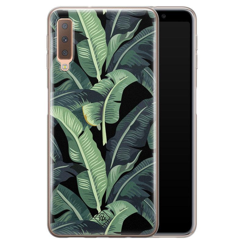 Casimoda Samsung Galaxy A7 2018 siliconen hoesje - Bali vibe
