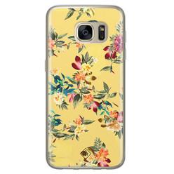 Casimoda Samsung Galaxy S7 siliconen hoesje - Floral days