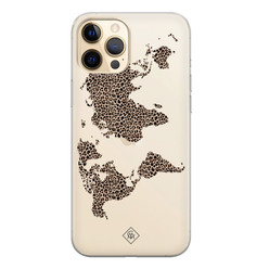 Casimoda iPhone 12 Pro Max transparant hoesje - Wild world