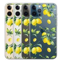 Casimoda iPhone 12 Pro Max transparant hoesje - Lemons