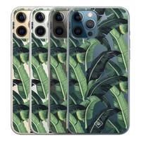Casimoda iPhone 12 Pro Max transparant hoesje - Jungle