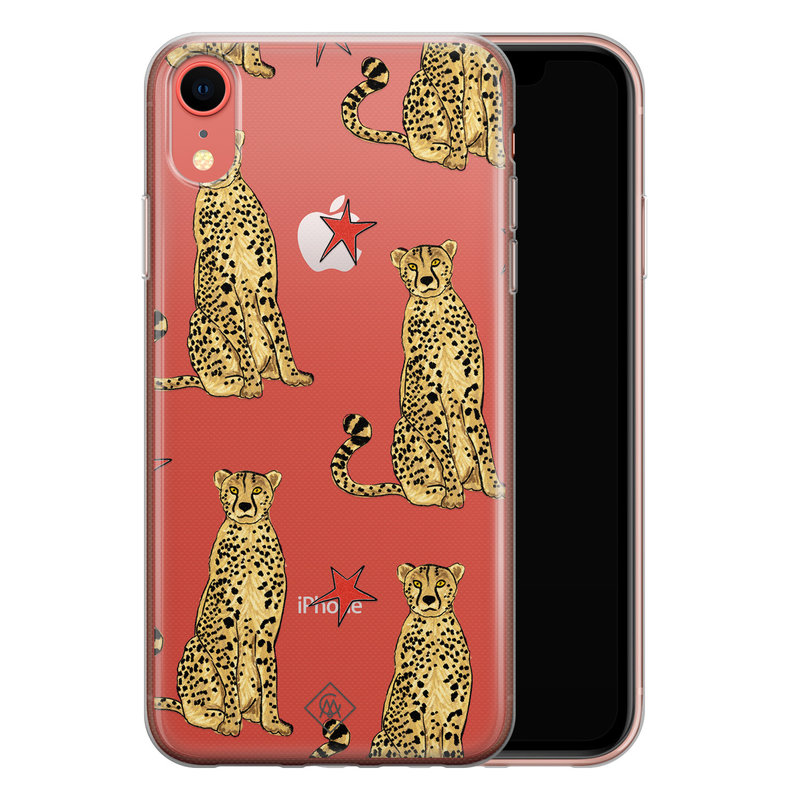 Casimoda iPhone XR transparant hoesje - Stay wild