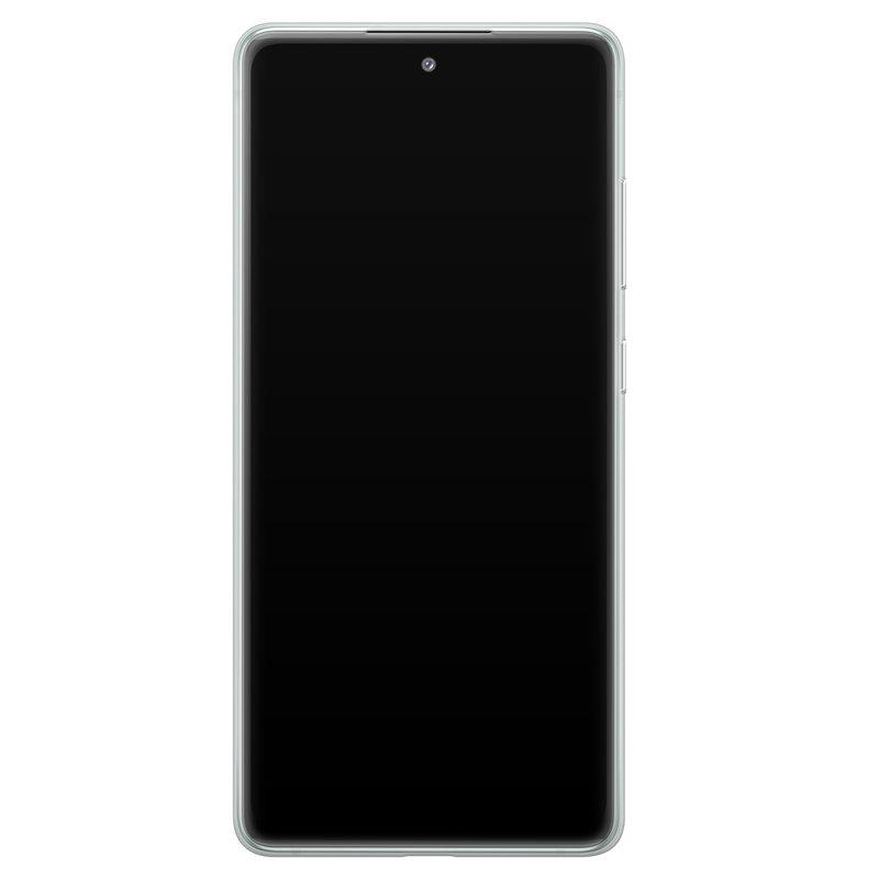 Casimoda Samsung Galaxy S20 FE transparant hoesje - Abstract faces
