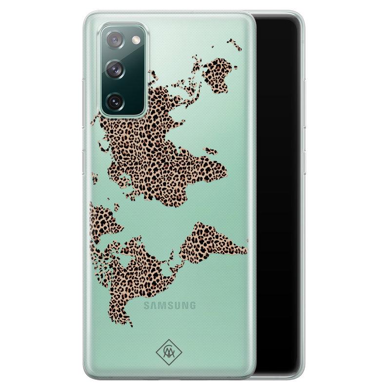 Casimoda Samsung Galaxy S20 FE transparant hoesje - Wild world